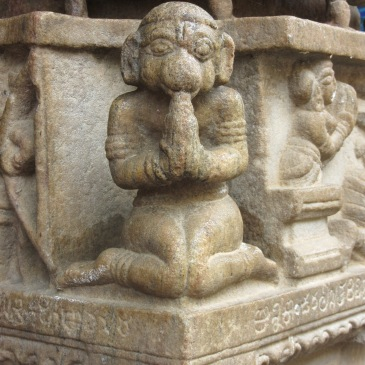 Hanuman ~ Melukote, Karnataka, Inde - Yoga Sésâme