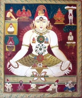 Peinture de Hatha Yoga ~ Mysore, Karnataka, Inde - Yoga Sésâme