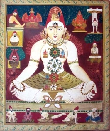Peinture Hatha Yoga - Yoga Sésâme