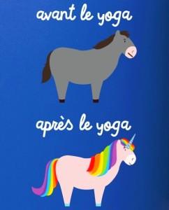 Yoga avant-après
