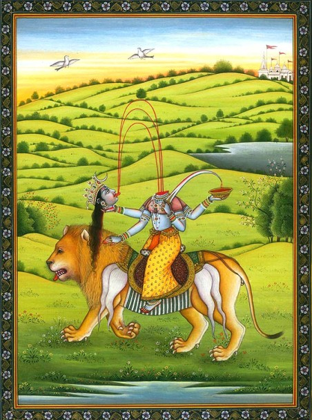 mahavidya_chinnamasta_riding_lion_hj82